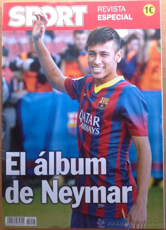 REVISTA EXTRA DIARIO SPORT ALBUM PRESENTACION NEYMAR FC BARCELONA 13/14 - ESPECIAL BARÇA (Coleccionismo Deportivo - Revistas y Periódicos - Sport)