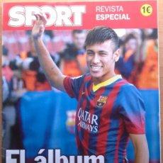 Coleccionismo deportivo: REVISTA EXTRA DIARIO SPORT ALBUM PRESENTACION NEYMAR FC BARCELONA 13/14 - ESPECIAL BARÇA. Lote 38313136