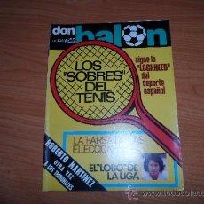 Coleccionismo deportivo: DON BALON Nº 57 NOVIEMBRE 1976 REPORTAJE COLOR DIARTE VALENCIA. Lote 38380927