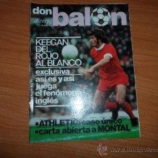Coleccionismo deportivo: DON BALON Nº 78 ABRIL 1977 GRAN REPORTAJE COLOR ATHLETIC BILBAO IRIBAR DANI ROJO ALESANCO VILLAR .. Lote 38396124
