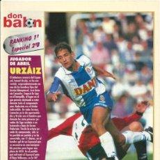 Coleccionismo deportivo: DON BALÓN: RANKING 1º Y 2º A, Y ESPECIAL 2º B. ABRIL 1996. Lote 38418263
