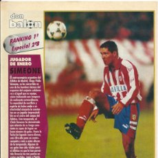 Coleccionismo deportivo: DON BALÓN: RANKING 1º Y 2º A, Y ESPECIAL 2º B. ENERO 1996. Lote 38418285