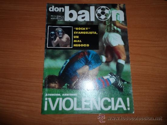 DON BALON Nº 101 1977 REPORTAJE COLOR FOTOS ARCONADA SATRUSTEGUI IDIGORAS REAL SOCIEDAD MANZANEDO (Coleccionismo Deportivo - Revistas y Periódicos - Don Balón)