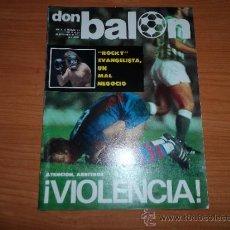 Coleccionismo deportivo: DON BALON Nº 101 1977 REPORTAJE COLOR FOTOS ARCONADA SATRUSTEGUI IDIGORAS REAL SOCIEDAD MANZANEDO. Lote 38439319