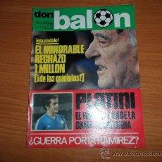 Coleccionismo deportivo: DON BALON Nº 116 1977 REPORTAJE COLOR KEMPES VALENCIA DIARTE ZARAGOZA CARDEÑOSA REAL BETIS. Lote 38441194