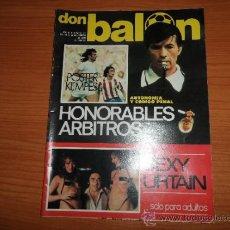 Coleccionismo deportivo: DON BALON Nº 123 1977 REPORTAJE COLOR URRUTICOECHEA REAL SOCIEDAD POSTER CENTRAL KEMPES VALENCIA. Lote 38449200