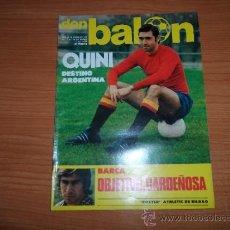 Coleccionismo deportivo: DON BALON Nº 126 1977 COLOR POSTER CENTRAL JUGADORES DEL ATHLETIC BILBAO- AUPA ATLETICO MADRID. Lote 38449268