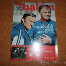 Coleccionismo deportivo: DON BALON Nº 161 1978 REPORTAJE COLOR BARCELONA - ANDERLETCH SOLSONA Y KEMPES VALENCIA. Lote 38522671
