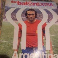 Coleccionismo deportivo: EXTRA DON BALON MUNDIAL DE ARGENTINA 1978 96 PAGINAS. Lote 38459921
