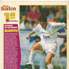 Coleccionismo deportivo: RANKING DON BALÓN 1º Y 2º A Y ESPECIAL 2º B. NOVIEMBRE 1996. Lote 38462835