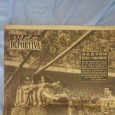Coleccionismo deportivo: VIDA DEPORTIVA AÑO XII.Nº588.24 DE DICIEMBRE 1956. Lote 38493891