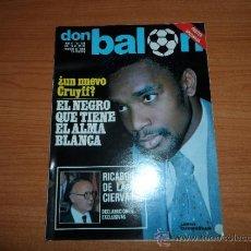 Coleccionismo deportivo: DON BALON Nº 228 1980 REPORTAJE COLOR GRAN POSTER ARCONADA REAL SOCIEDAD . Lote 38904598