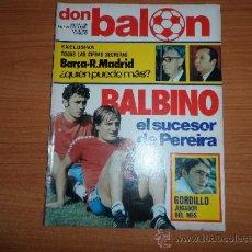 Coleccionismo deportivo: DON BALON Nº 265 04 / 11 /1980 BUENA SALUD DE OSASUNA POSTER CENTRAL ATLETICO DE MADRID 80-81. Lote 39084490