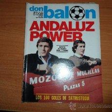 Coleccionismo deportivo: DON BALON Nº 277 1981 SATRUSTEGUI REAL SOCIEDAD GORDILLO BETIS MONTERO SEVILLA . Lote 39085429