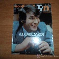 Coleccionismo deportivo: DON BALON Nº 288 1981 REPORTAJE COLOR DIARTE BETIS- ITO SALAMANCA -GILBERTO VALLADOLID. Lote 39086497