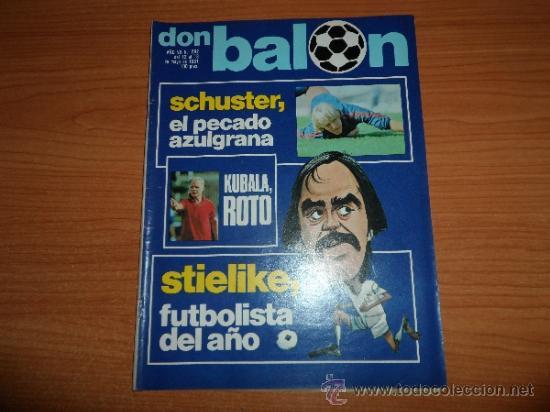 DON BALON Nº 292 1981 REPORTAJE COLOR STIELIKE REPORTAJE MURCIA Y FOTO ALINEACION (Coleccionismo Deportivo - Revistas y Periódicos - Don Balón)