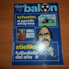 Coleccionismo deportivo: DON BALON Nº 292 1981 REPORTAJE COLOR STIELIKE REPORTAJE MURCIA Y FOTO ALINEACION. Lote 39086546