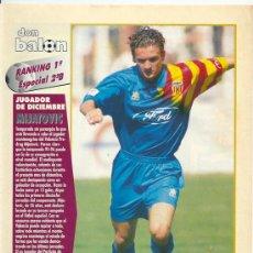 Coleccionismo deportivo: RANKING DON BALÓN 1º Y 2º A Y ESPECIAL 2º B. DICIEMBRE DE 1995. Lote 38511493