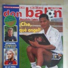 Coleccionismo deportivo: DON BALÓN Nº 1143 (SEPTIEMBRE 1997). MARCELINHO CARIOCA (VALENCIA). Lote 38536815