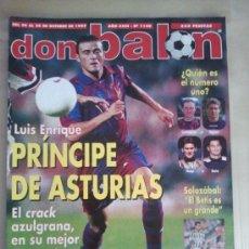 Coleccionismo deportivo: DON BALÓN Nº 1149 (OCTUBRE 1997). LUIS ENRIQUE, PRÍNCIPE DE ASTURIAS. Lote 38536887