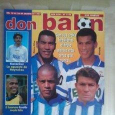 Coleccionismo deportivo: DON BALÓN Nº 1140 (AGOSTO 1997). SAMBA DEPOR, CON SUS CRACKS EL TÍTULO PARECE MÁS CERCA QUE NUNCA. Lote 38537000