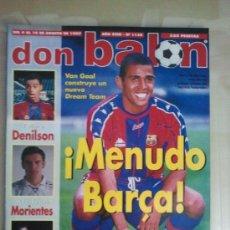 Coleccionismo deportivo: DON BALÓN Nº 1138 (AGOSTO 1997). MENUDO BARÇA !!. Lote 38537069