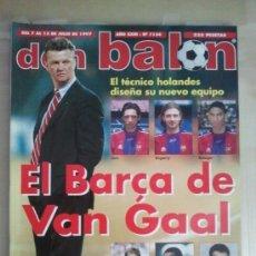 Coleccionismo deportivo: DON BALON Nº 1134 (JULIO 1997). EL BARÇA DE VAN GAAL. Lote 38537148