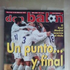 Coleccionismo deportivo: DON BALON Nº 1130 (JUNIO 1997). REAL MADRID, UN PUNTO Y FINAL. Lote 38537184