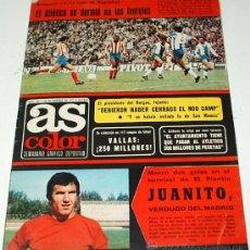 Coleccionismo deportivo: AS COLOR - Nº 301 -22 FEBRERO 1977-CON SU POSTER DEL REAL JAEN ORIGINAL -. Lote 38759402