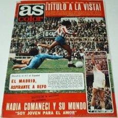 Coleccionismo deportivo: AS COLOR- Nº 307 -5 ABRIL 1977-CON SU POSTER DEJUANITO, BURGOS C.F... ORIGINAL -LEER. Lote 38759491