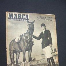 Colecionismo desportivo: MARCA - LA JORNADA DEL CABALLO - Nº 651 - 24 MAYO 1955. Lote 38875145
