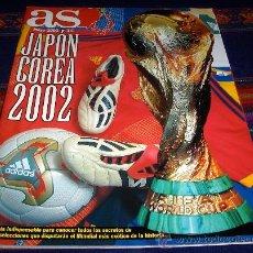 Coleccionismo deportivo: AS JAPÓN COREA 2002. GUÍA DEL MUNDIAL. Y DIFÍCIL!!!!!!. Lote 38881979