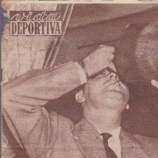 Coleccionismo deportivo: REVISTA DEPORTIVA VIDA DEPORTIVA 13 JUNIO 1960. Lote 38899084
