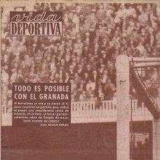 Coleccionismo deportivo: REVISTA VIDA DEPORTIVA 29 FEBRERO 1960. Lote 38899235