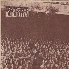 Coleccionismo deportivo: REVISTA VIDA DEPORTIVA 25 ENERO 1960. Lote 38899282