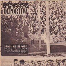 Coleccionismo deportivo: REVISTA VIDA DEPORTIVA OCTUBRE 1960. Lote 38900027