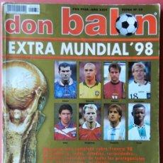 Collezionismo sportivo: EXTRA DON BALON MUNDIAL FRANCIA 98 - REVISTA ESPECIAL GUIA COPA DEL MUNDO 1998 -. Lote 38917932