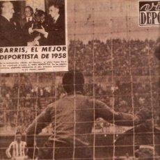 Coleccionismo deportivo: REVISTA VIDA DEPORTIVA Nº 695 12 ENERO 1959. Lote 38941087