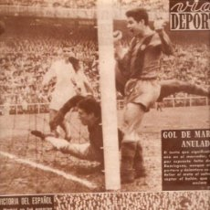 Coleccionismo deportivo: REVISTA VIDA DEPORTIVA Nº 741 30 NOVIEMBRE 1959. Lote 38941159