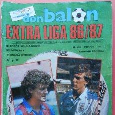 Coleccionismo deportivo: EXTRA DON BALON LIGA 86-87 - ESPECIAL GUIA LIGA FUTBOL 1986-1987 - . Lote 38968164