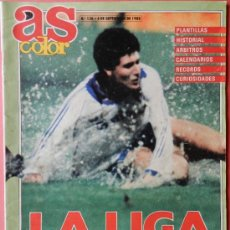 Coleccionismo deportivo: AS COLOR GUIA LA LIGA 88/89 - EXTRA 1988 - 1989 DIARIO AS - . Lote 35220499