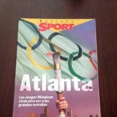 Coleccionismo deportivo: REVISTA SUPLEMENTO SPORT OLIMPIADAS ATLANTA 96. Lote 39067303