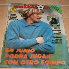 Colecionismo desportivo: REVISTA DON BALÓN Nº 583 DICIEMBRE 1986 POSTER N´KONO ESPAÑOL. Lote 39202381