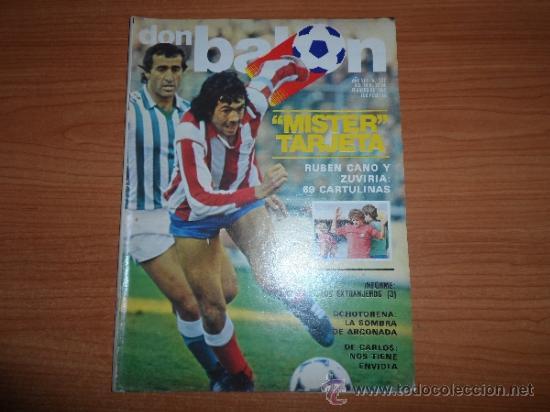 DON BALON Nº 332 1982 REPORTAJE COLOR ALEXANCO BARCELONA (Coleccionismo Deportivo - Revistas y Periódicos - Don Balón)