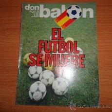 Coleccionismo deportivo: DON BALON Nº 339 1982 REPORTAJE COLOR QUINI BARCELONA. Lote 39365736