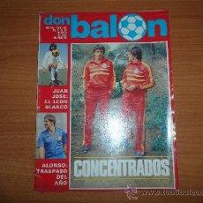 Coleccionismo deportivo: DON BALON Nº 344 1982 PORTADA ARCONADA . Lote 39365817