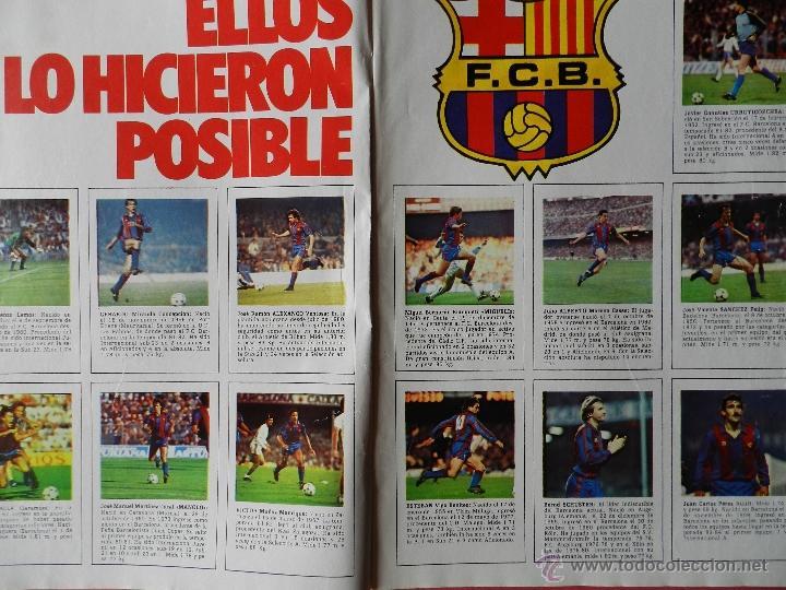 Coleccionismo deportivo: REVISTA DON BALON Nº 493 - FC BARCELONA CAMPEON LIGA 84/85 - FUTBOL BARÇA 1984-1985 - Foto 2 - 39529759