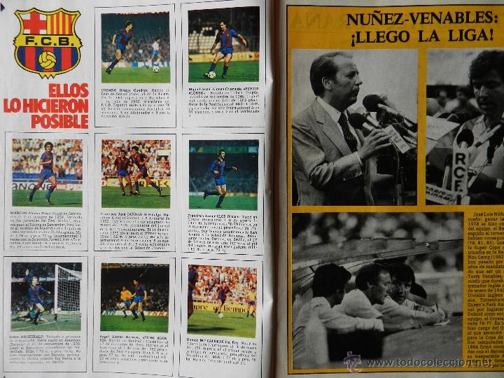 Coleccionismo deportivo: REVISTA DON BALON Nº 493 - FC BARCELONA CAMPEON LIGA 84/85 - FUTBOL BARÇA 1984-1985 - Foto 3 - 39529759