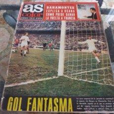 Coleccionismo deportivo: AS COLOR Nª 37 ( 1/2/1972) GOL FANTASMA. Lote 39307638