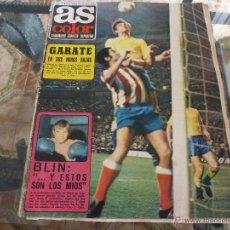 Coleccionismo deportivo: AS COLOR Nª 55 ( 6/6/1972) GARATE,EN SUS HORAS BAJAS. Lote 39311167